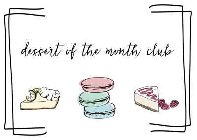 dessert of the month image